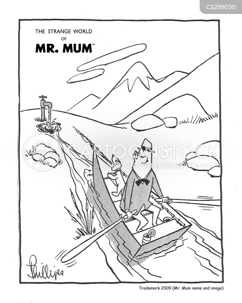 paddle boat cartoon