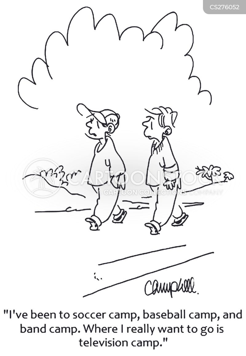 soccer camps cartoon