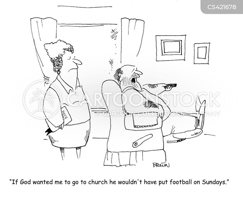sunday sermons cartoon
