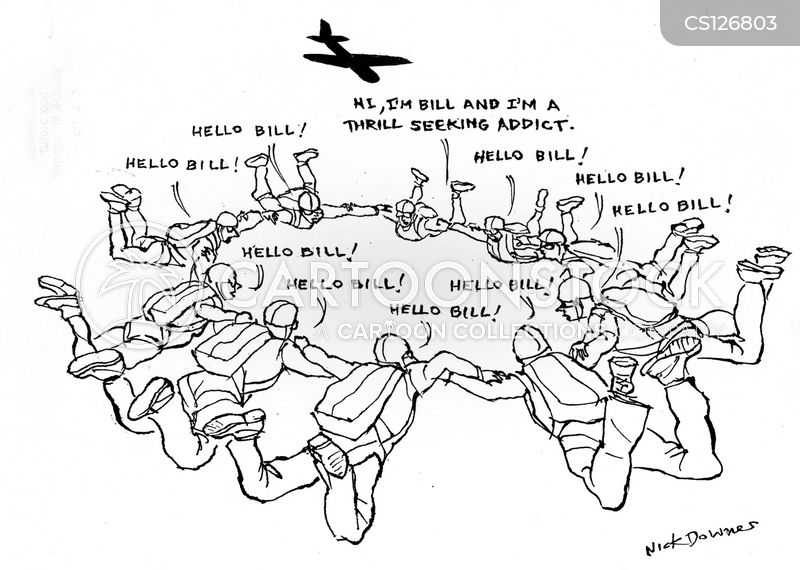 adrenaline seekers cartoon
