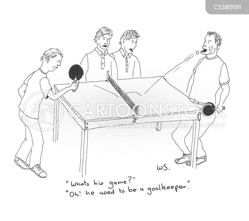ping pong cartoon