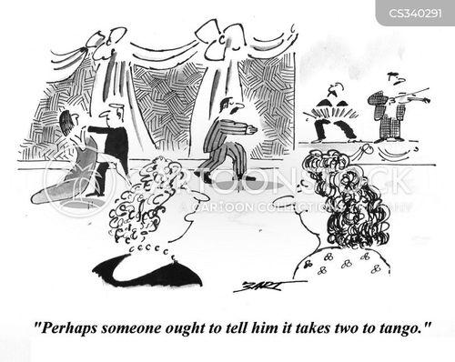 tangos cartoon