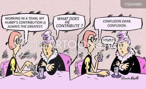 teamplayers cartoon