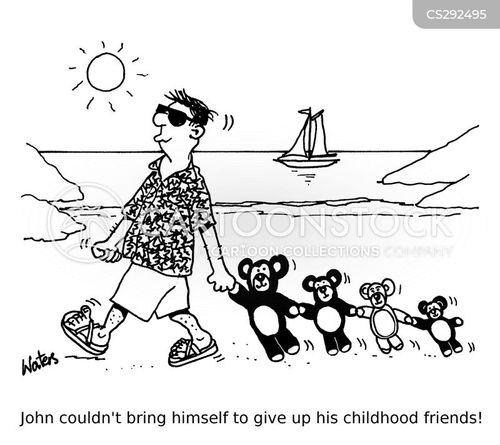 childhood friends cartoon