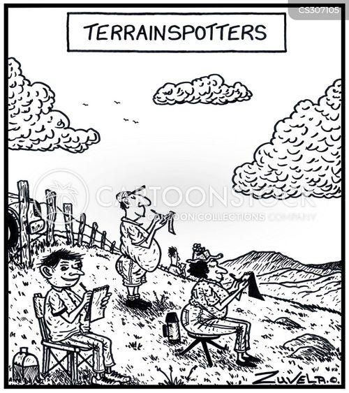 terrain cartoon