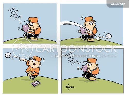 fielding cartoon