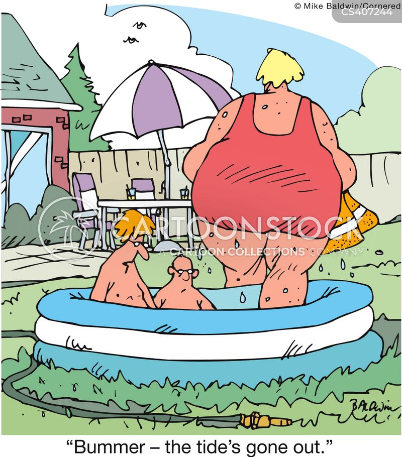 paddling pools cartoon