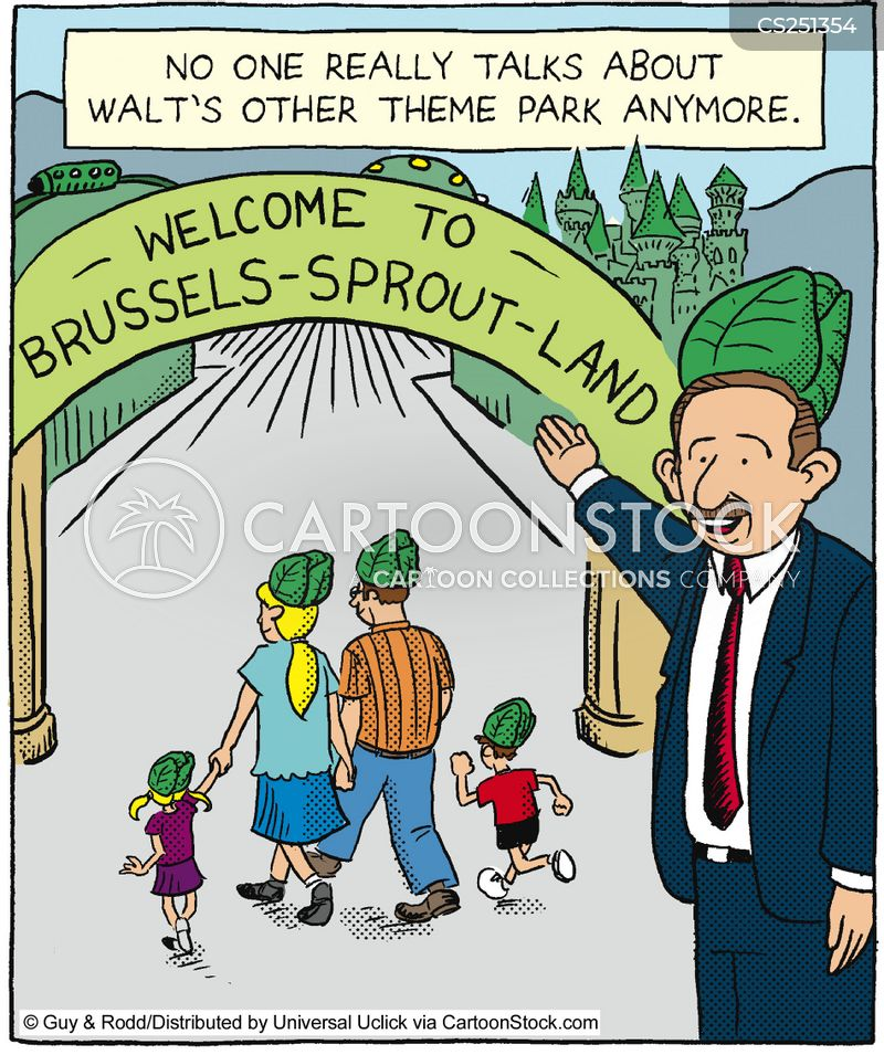 brussels sprout cartoon