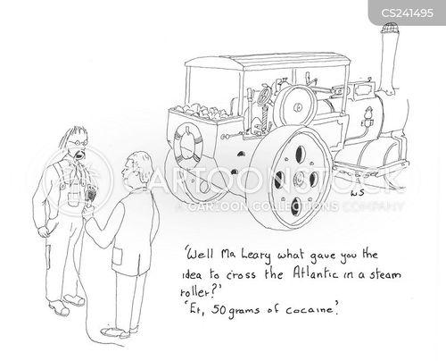 atlantic crossing cartoon