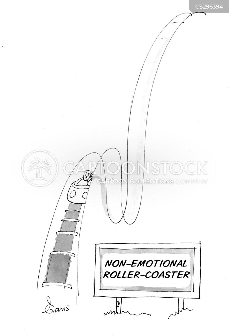 unemotional cartoon