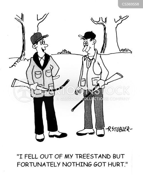 tree stands cartoon