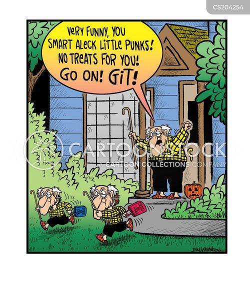smart aleck cartoon