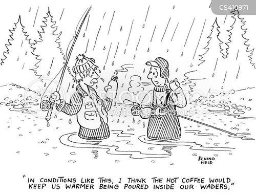 hypothermia cartoon