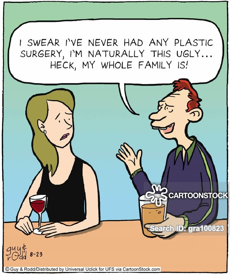 family traits cartoon