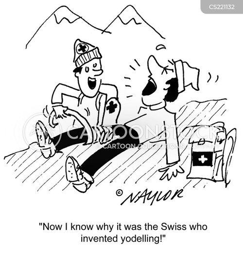 treks cartoon