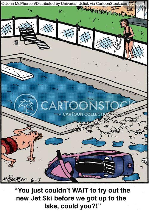 jet skis cartoon