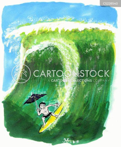 wetsuits cartoon