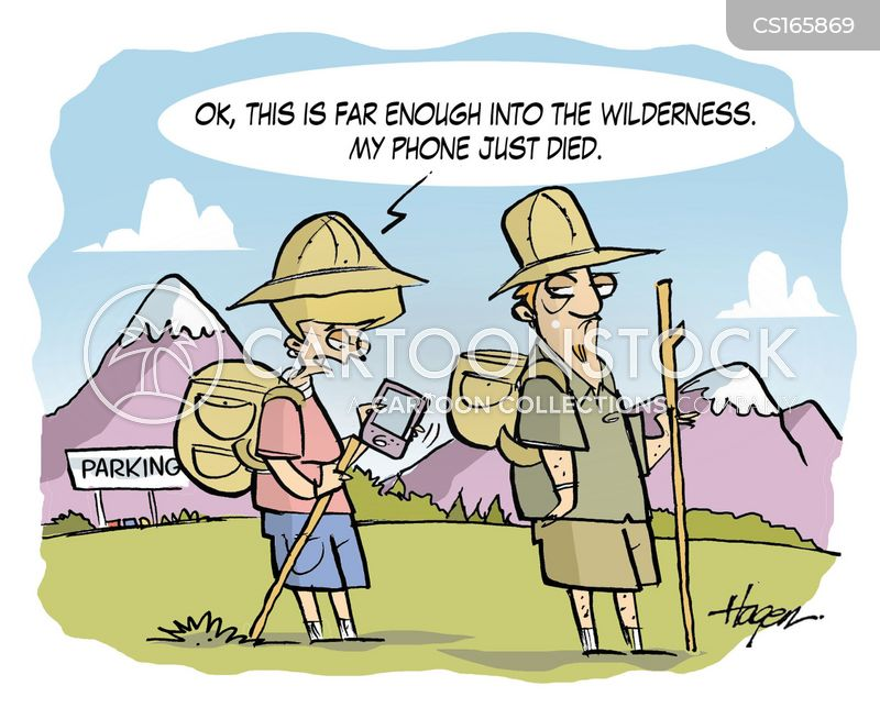 wilderness cartoon