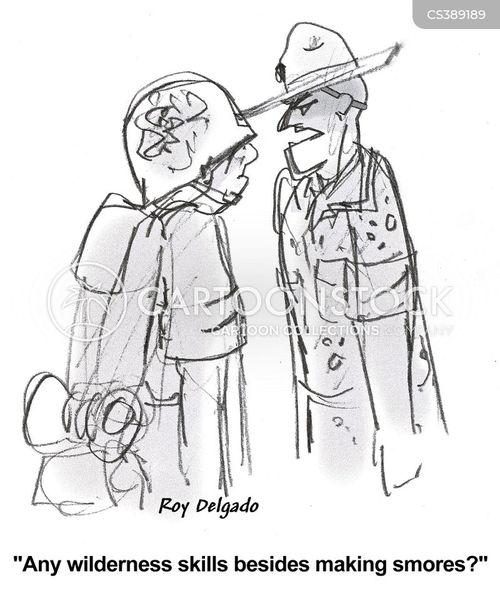 smores cartoon