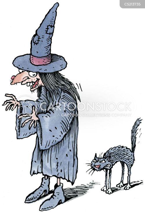 witchy cartoon