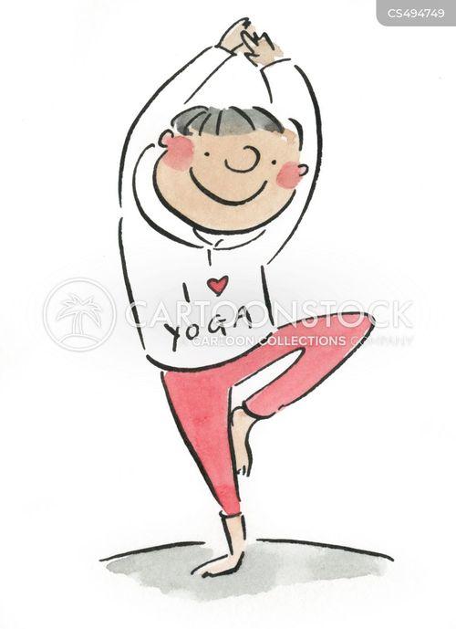 yogas cartoon