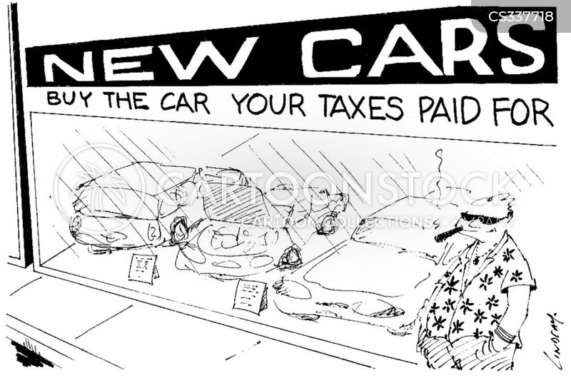 car manufacturing cartoon