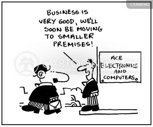 electronic industry cartoon