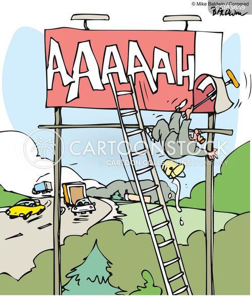 billboards cartoon