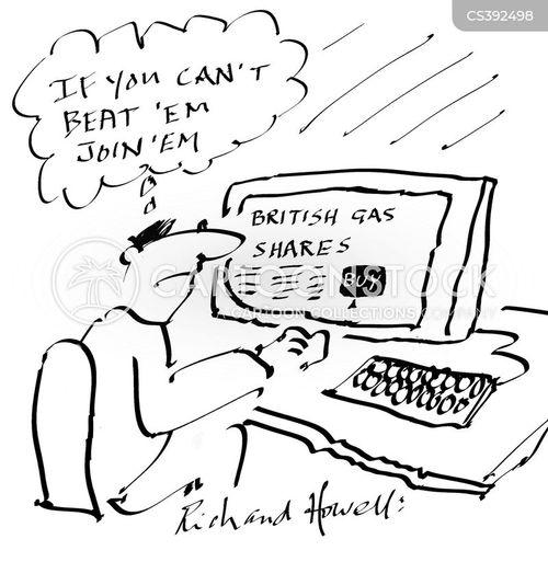 energy companies cartoon