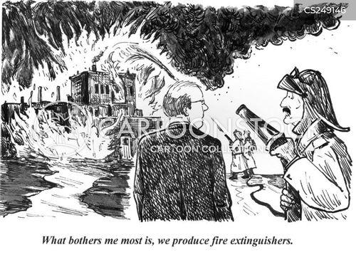 extinguish cartoon