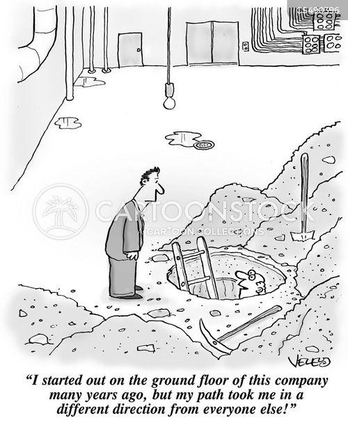 trajectory cartoon