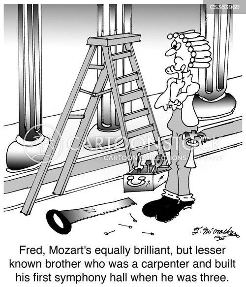 concert hall cartoon
