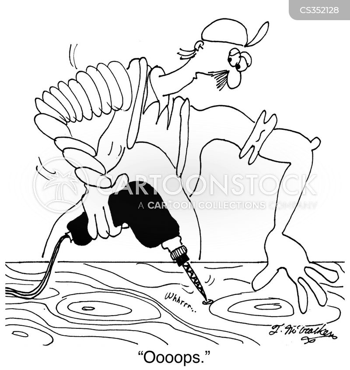 sprains cartoon
