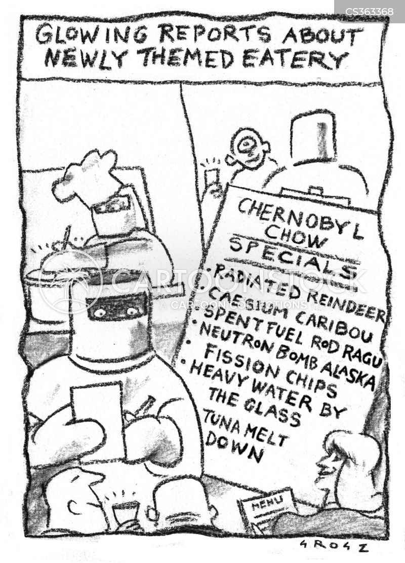 nuclear power plants cartoon