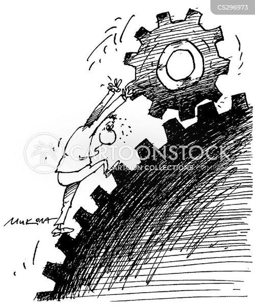 mechanism cartoon