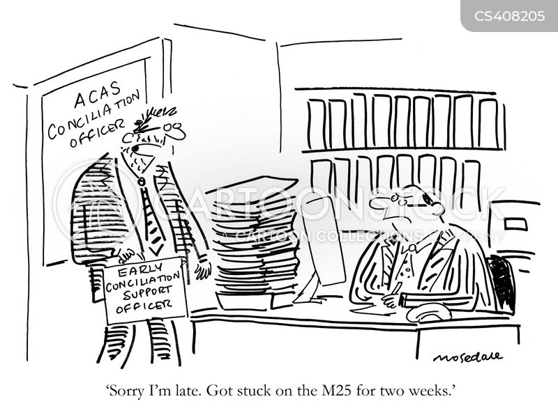 conciliation officers cartoon