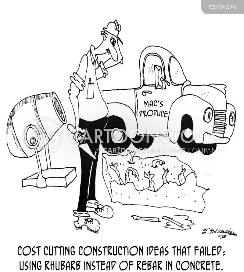 concrete cartoon