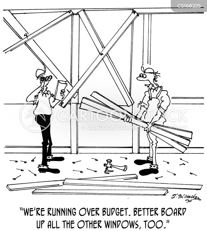 construction workers cartoon