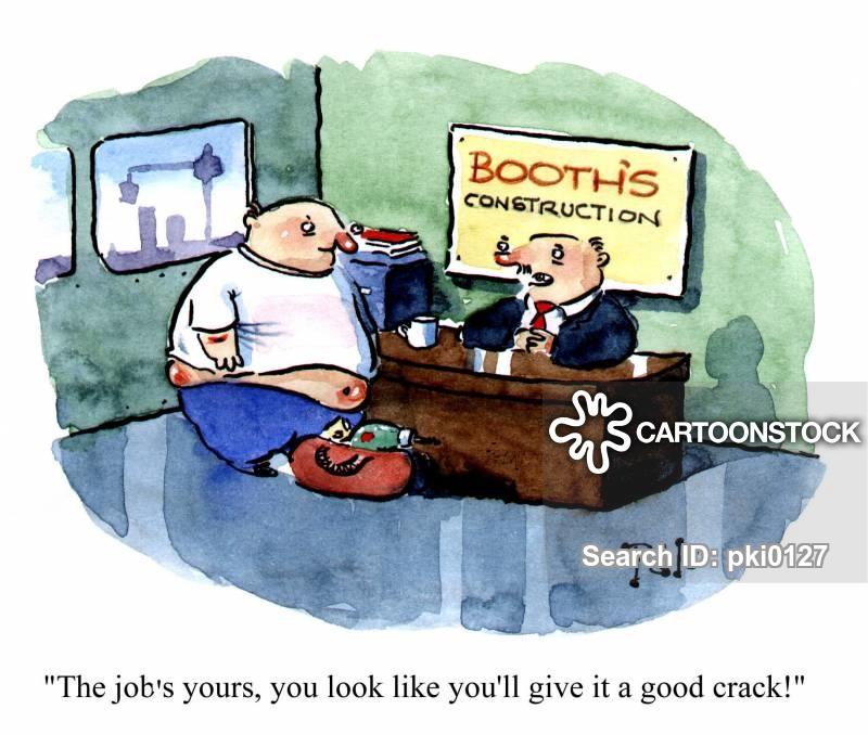bum crack cartoon