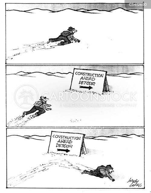 building zone cartoon