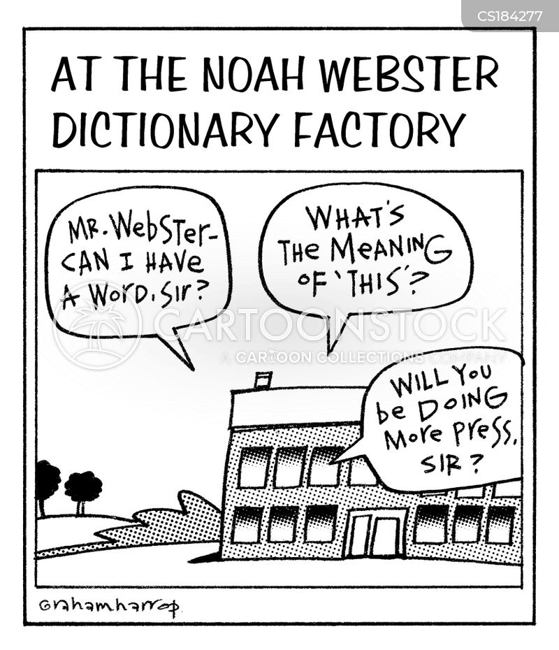 webster cartoon