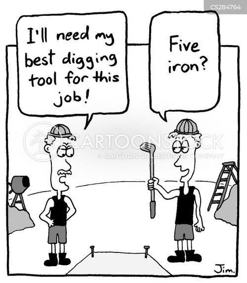 industrial site cartoon