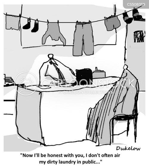 personal problems cartoon