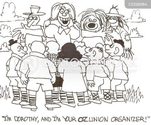 trade unionist cartoon