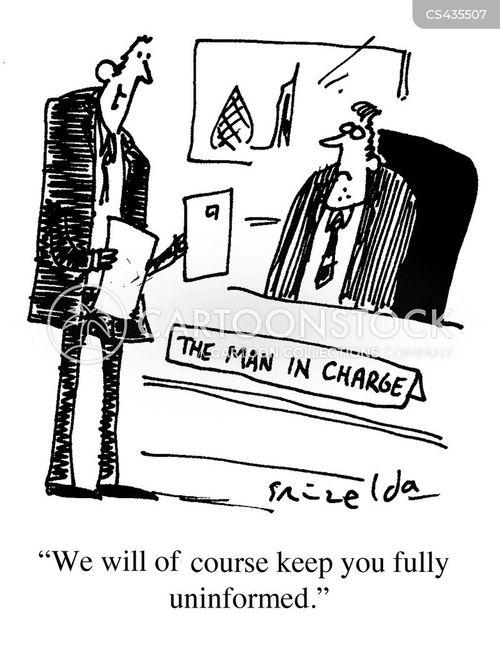 office ladder cartoon
