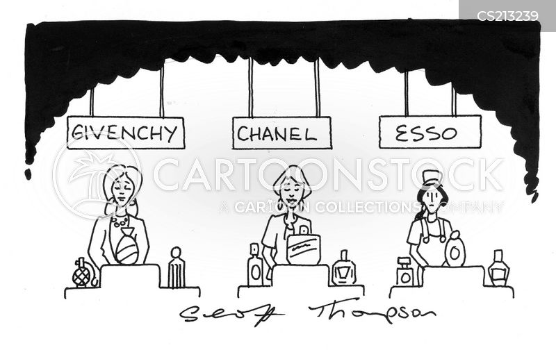 esso garages cartoon