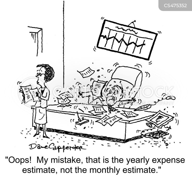 expense reports cartoon