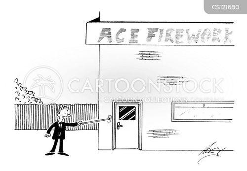 door knockers cartoon