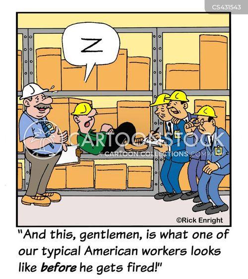 warehouses cartoon