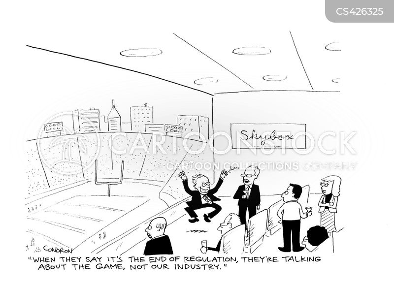 banking regulations cartoon